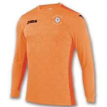Ballybofey United FC GOALKEEPER SHIRT DERBY II ORANGE L/S 2018 - Adults